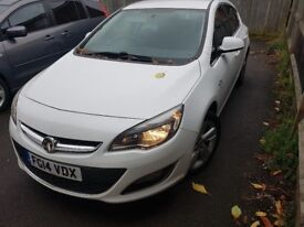 vauxhall astra £4500 quick sale due to new car. light front and rear bumper minor