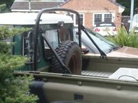 Land Rover Defender Military Roll Bar