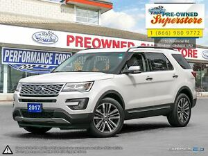 2017 Ford Explorer Platinum***CAP unit with Captain's Chairs***