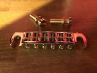 TonePros AVT2G Gold wraparound bridge