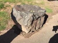 Six huge boulders