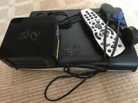 Sky HD box and hub
