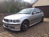 (PRICE DROP) BMW E46 316 (1.8L) 2002 compact M-tech wheels/body FSH 49K miles