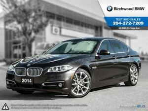 2014 BMW 5 Series 535i Xdrive Premium! Technology! Local One Own