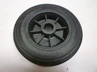 Trailer wheel in black - new - replacement wheel