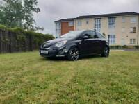 2013 VAUXHALL CORSA BLACK EDITION 1.4 TURBO WITH 60000 MILES AND A FULL SERVICE HISTORY,