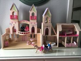 KidKraft wooden Princess castle
