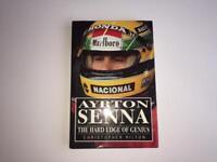 Rare SIGNED Ayrton Senna F1 Grand Prix Hardback Book
