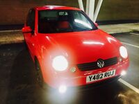 2001 Volkswagen lupo 1.4 s ,RARE Automatic, low mileage 58k,RARE heated seats, low mileage,AC, CD