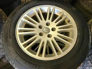 215/65/17 Hankook Tires+Rim 90%
