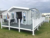 AMAZING Brand New Luxurious Static Caravan For Sale In Great Yarmouth - Includes Glass Decking
