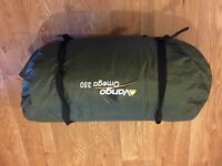 Vango Omega 350 trekking 3/4 person Tent - good condition
