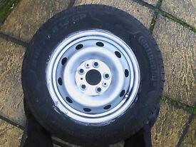 Fiat Motorhome Spare Wheel
