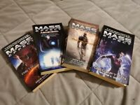 Mass Effect Novels - Set of 4