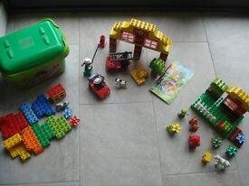 Lego Duplo Bundle Fire Station, Garden and Starter Set VGC