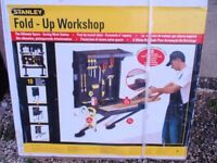 Wall Mounted Stanley Fold up Workshop