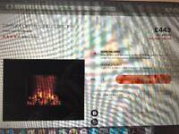 Dimplex Opti-Myst wall fire