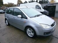 ** NEWTON CARS ** 03 53 FORD CMAX 2.0 TD MPV, GOOD OVERALL, 106,000 MLS, MOT MAR 2018, P/EX POSS