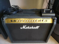 MARSHALL VS230 GUITAR AMP AND FOOT PEDAL IN VGC