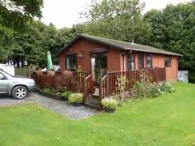 Wooden Lodge at Dartmoor View Holiday Park