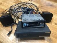 Alpine Radio With 6 Disc Changer