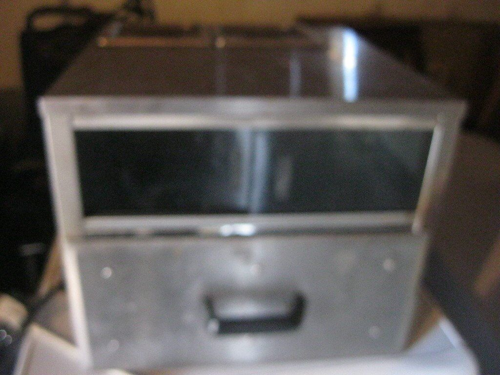 COMMERCIAL STAINLESS STEEL 'ACE' PIZZA/PIE/POTATO CABINET WITH GRAVY/BEAN DISHES. VIEW/DELIVERY POSS