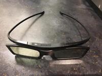 2x Samsung 3D Active Glasses