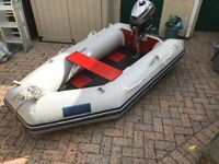Seago Ranger 240 Dinghy/Tender with Mariner 2.5hp Outboard