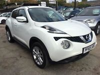 Nissan Juke 1.2 DIG-T N-Connecta 5dr (start/stop) FREE 1 YEAR WARRANTY, FINANCE AVAILABLE
