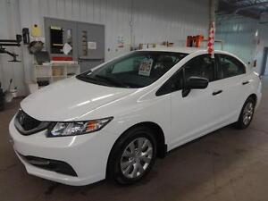 2015 Honda Civic Sedan DX 24 000 KM SEULEMENT !! ** 48$ / SEMAIN