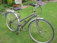 LADIES RALEIGH PIONEER CYCLE ( 3 x 7 speed ) Shimano gears , Gell seat ( removable )