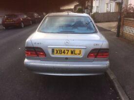 Mercedes E320 CDI 2002 automatic