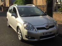 MUST SEE!! TOTOTA COROLLA VERSO 7 SEATER FULLY LOADED LEATHER SEATS SATNAV DVD PLAYER - ONLY £4199