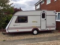 Abi jubilee GT 2 birth full awning very light to tow excellent condition