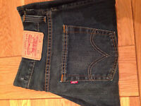 "Levi Strauss & Co Men's 512 Bootcut Jeans (34""W x 32""L) (never worn) JUST REDUCED"