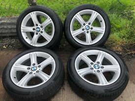 Bmw 3-4 series 17inch alloys trafic van vivaro van