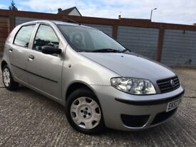 FIAT PUNTO ACTIVE 1.2L SERVICE HISTORY AND LONG MOT
