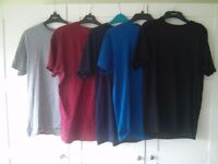 Blaklader T-Shirts, set of 5 Size Medium various colours ACCEPTING OFFERS