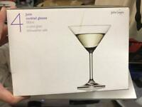 4 cocktail glasses - John Lewis