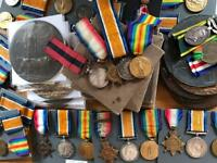 MILITARY ANTIQUES WANTED