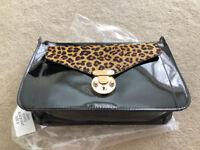 Ladies Leopard print/black Handbag