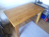 Solid pine kitchen table £50 ono