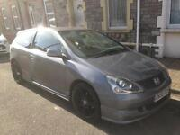 Honda civic type r *replica* plenty work done!!