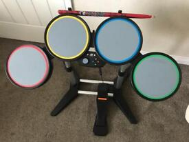 XBox 360 Rock Band drum kit. Perfect working order.