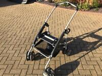 Mamas and Papas MPX Travel System for Car Seat / Pushchair attachments