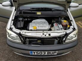 2003 Vauxhall Zafira 1.8 i 16v Elegance 5dr Automatic @07445775115