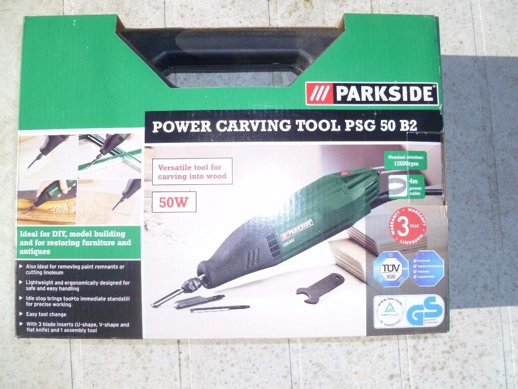 Parkside Electric Wood Carving Tool In Oxford