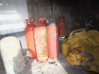 CALOR GAS BOTTLES LAREGE EMPTY CHADDESDEN DERBY