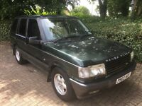 1997 RANGE ROVER HSE 4.6 AUTO GREEN LOW MILEAGE