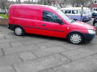 vauxhall combo cat/c repairable